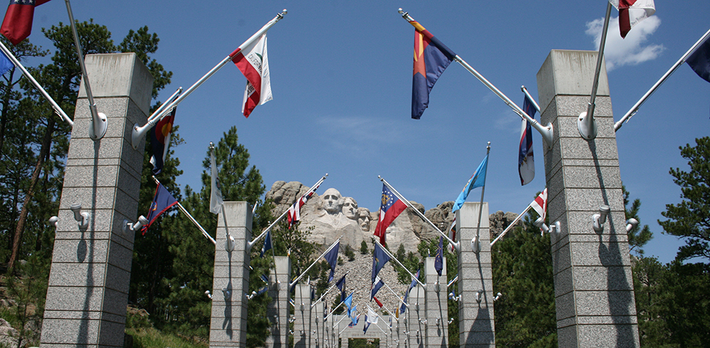 The  Avenue of Flags