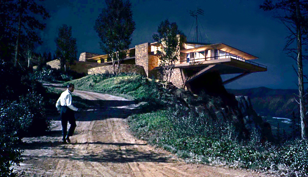 """The Vandamm House"" in  North by Northwest ."
