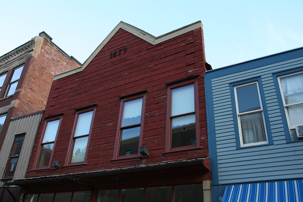 Classic Old Western façade.