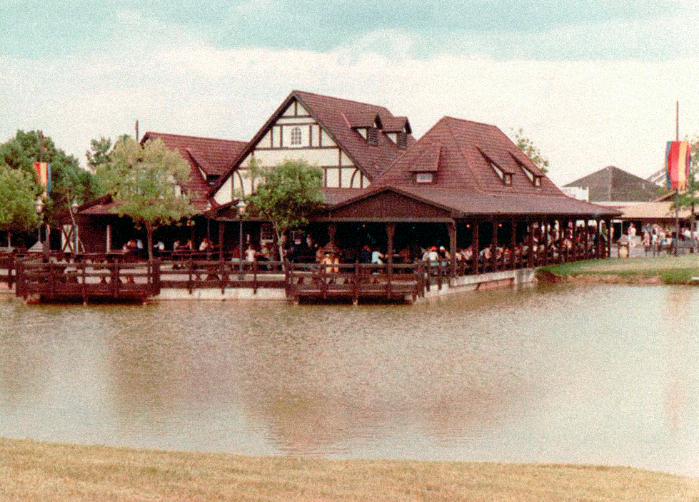 The original Kings Island biergarten.