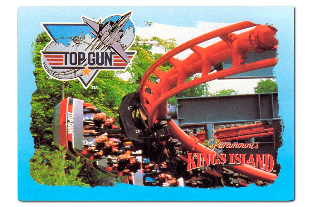 Top Gun   postcard, 1993.