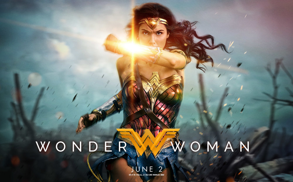 Wonder Woman movie promotional photo.