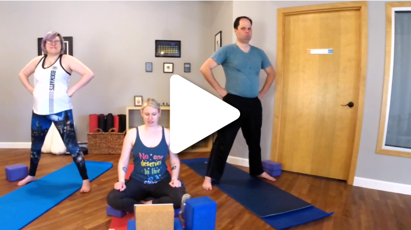Wizard Boy - Join Justine, Rose and Steve on a Harry Potter-themed YogaQuest. 53 minutes.