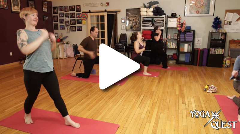 From the Vault:The Yogi of Darkness - Join Justine and the yogis of YogaQuest in this quest from deep in the YQ vault! 50 minutes.