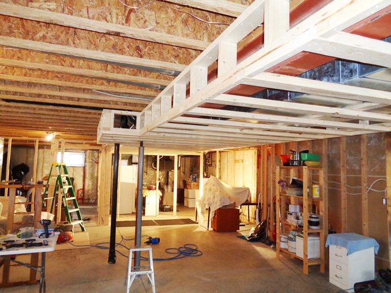 Basement Bulkhead Framing gary wolfe renovations.JPG