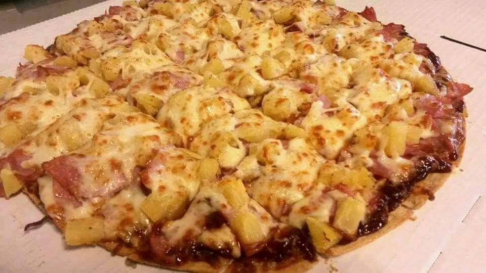 BBQ, Pineapple and Ham,