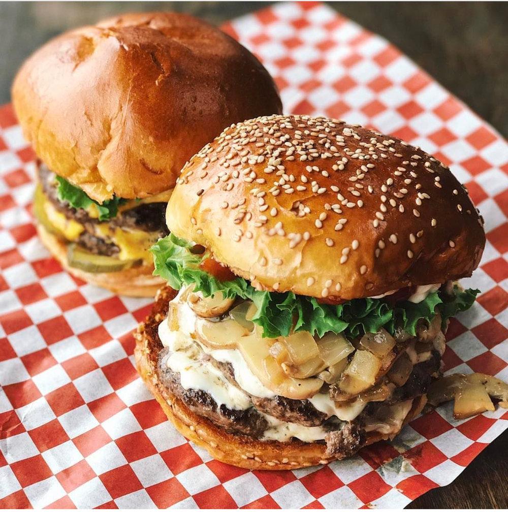 The beautiful burger