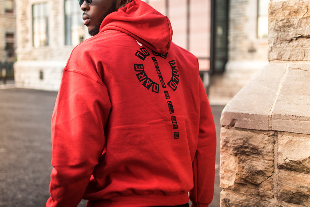 Dare to be bold Hoodie