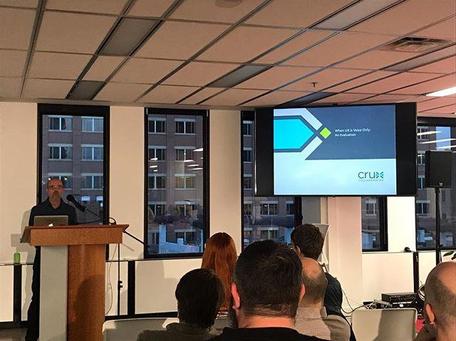 Thrilled to hear John Golden speak tonight from Cruz Collaborative!