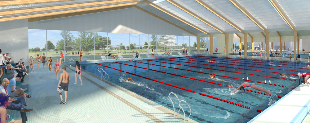 Option 2 - 25m Pool