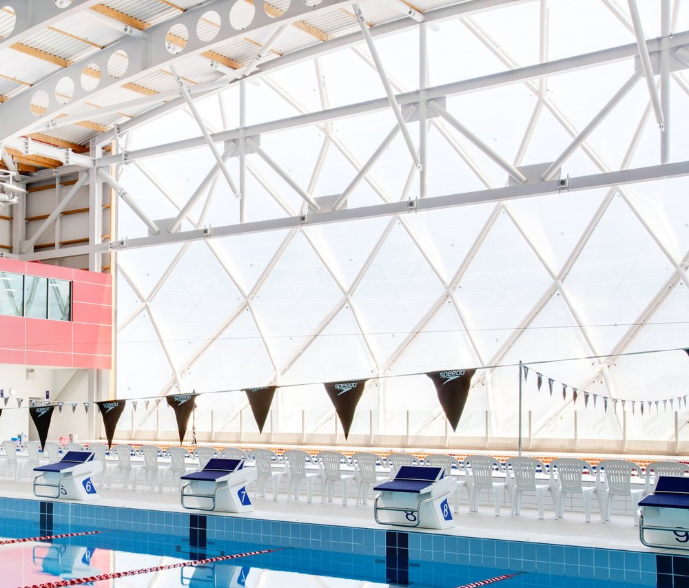 AUT Millenium Aquatic Centre, Auckland Feature ETFE Facade