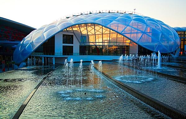 Yas Island Pavilion, Ferrari World, Abu Dhabi*