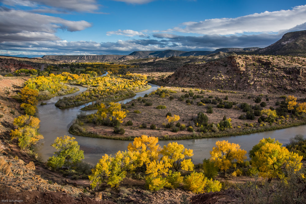 Chama River north of Abiquiu