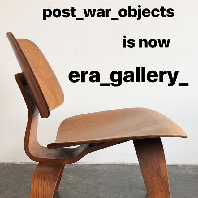 Welcome to @era_gallery_ .  I will be opening early February in the same location Post-War was at in Redlands but will be posting items for sale before that. Swipe left to get a glimpse of what's ahead. Hope you all had a great Christmas and look forward to seeing you all this new year! ✌️Kyle #eragallery #midcenturymodern #vintage #newnamenewyear #redlands