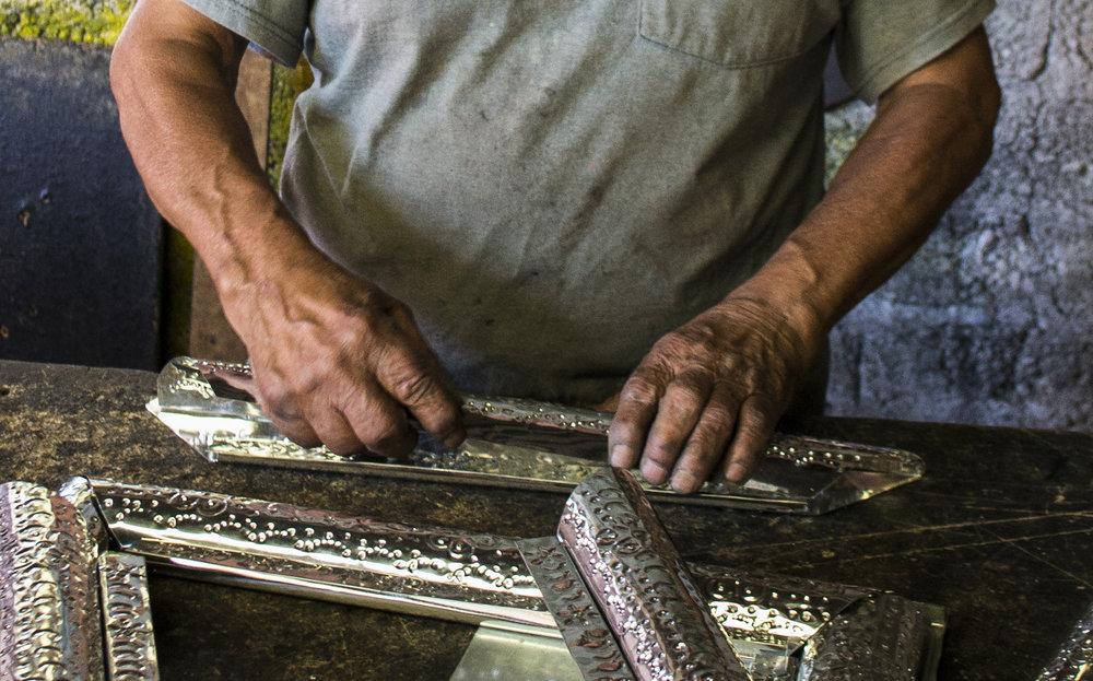 Craft Repujado |  Cacalomacán Edo. Mex.