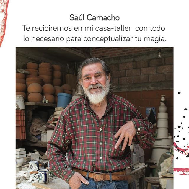 Saul Camacho en su taller de barro y cerámica de alta temperatura te inspirará para expresar tu magia. #C&B . . . . #mexico #art #workshop #taller #ceramic #ceramica #artesania #pueblomagico #vive_mexico #pasionxmexico #barro #craftmanship #tourism #ig_mexico #clay #handcraft #create #inspire #entrepreneur #socialentrepreneur #discover #traveler #traveltheworld #artsy #craft #breakfast