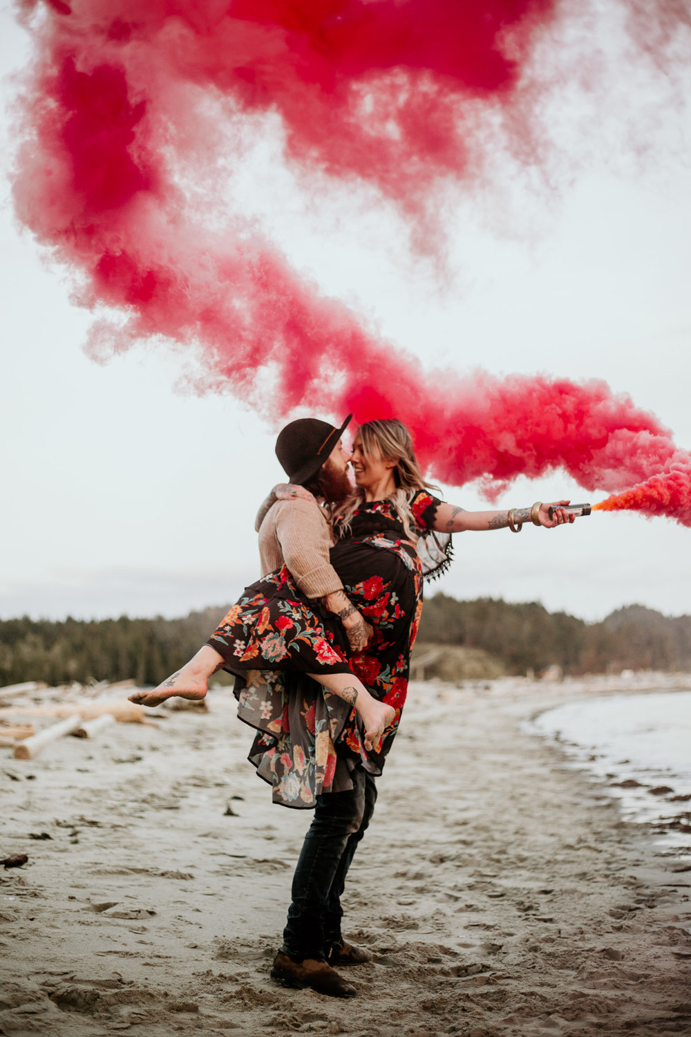 I may have a few smoke bombs on me for your session as well - always so much fun to add a bit of attitude to your images! Let's style up your session!