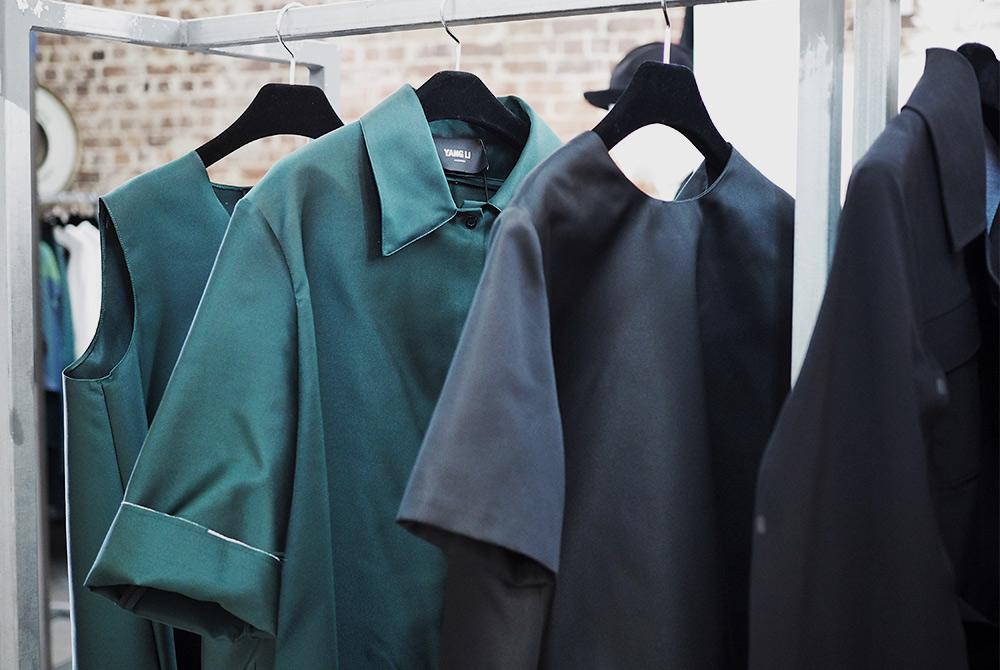Yang Li's clothing, shown at the Telstra Perth Fashion Festival