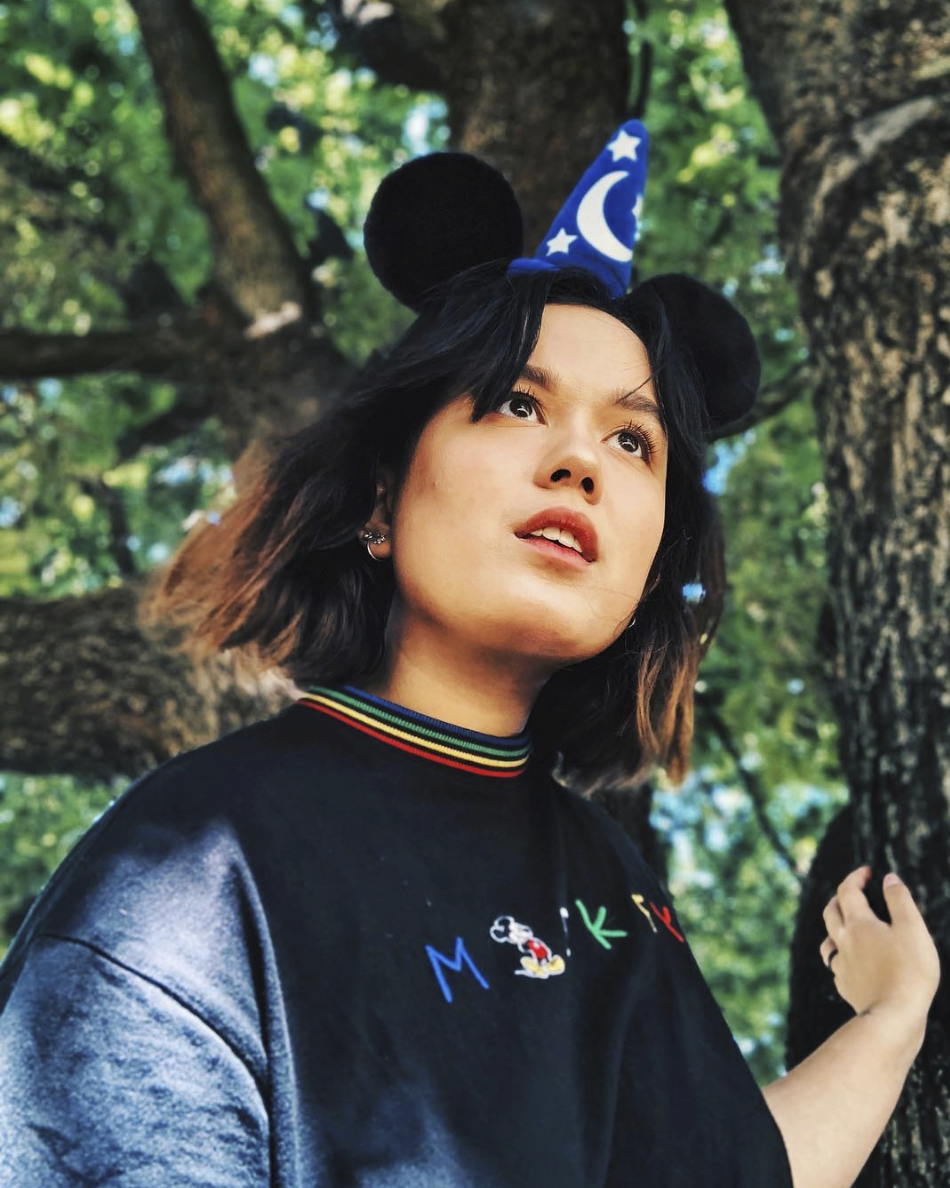 tiffany kennedy in disney lazy oaf