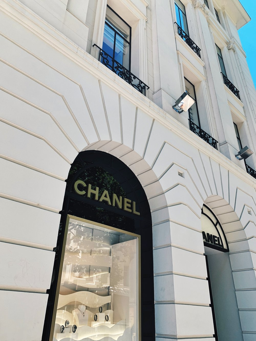 """Buildings like this draw you in, you can't help it. One of my friends once said that  """"we should go to Chanel every Sunday because it's our holy building.""""  I don't think I'll ever forget that."""