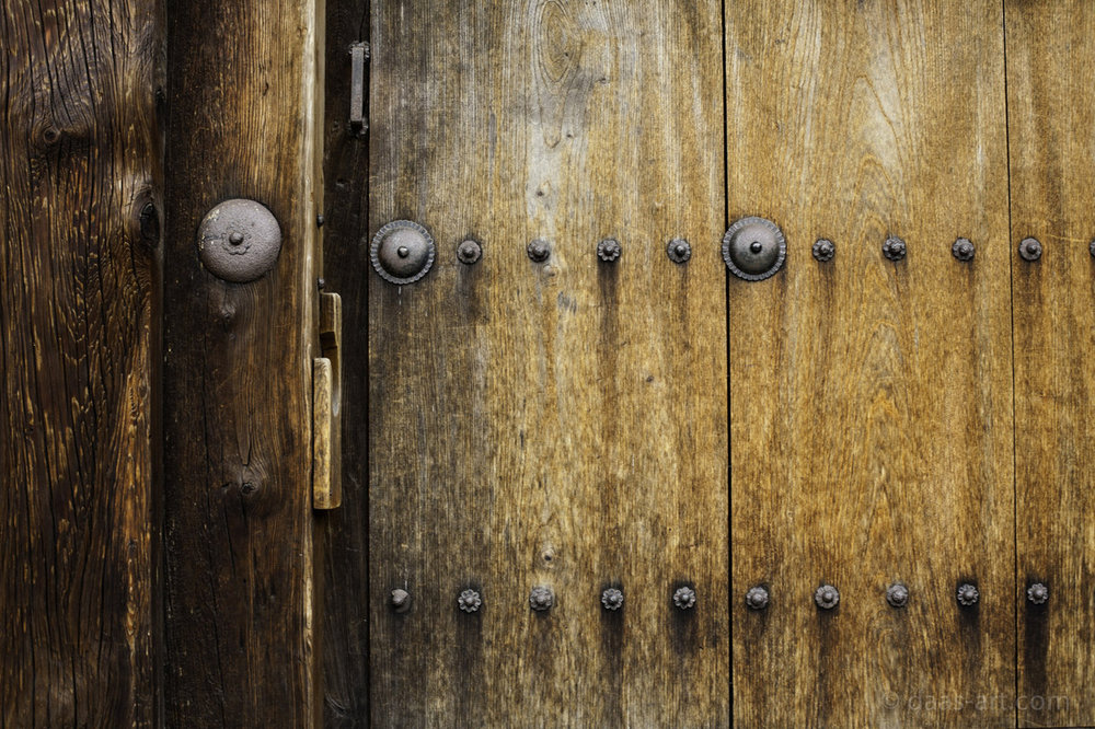 aforestofphotos :     Kyoto wood door