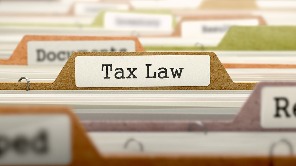 New Tax Law Letter to Clients