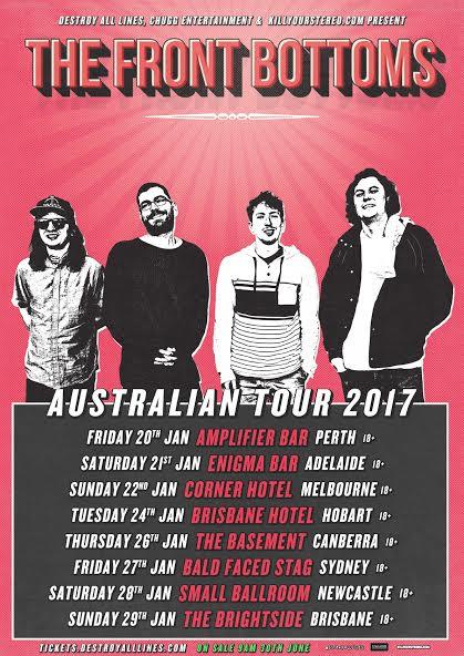 Tour Management; January 2017.