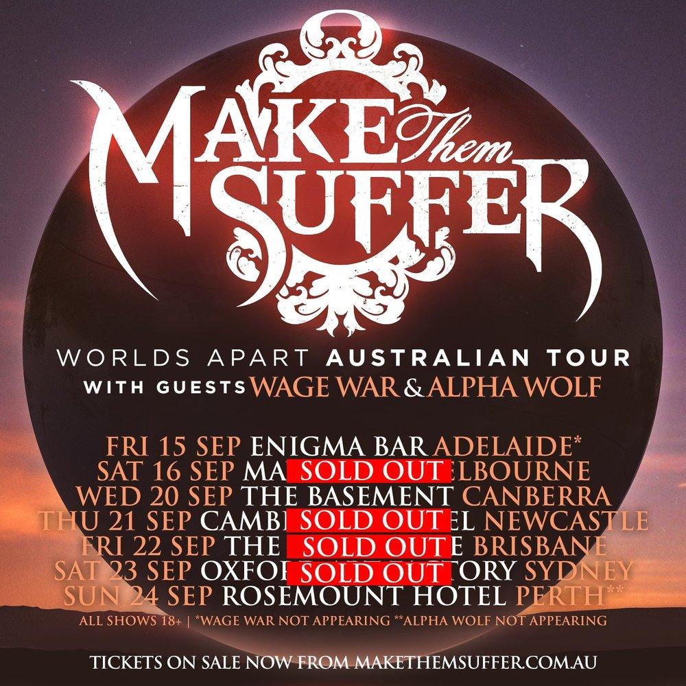 Tour Management; September 2017.