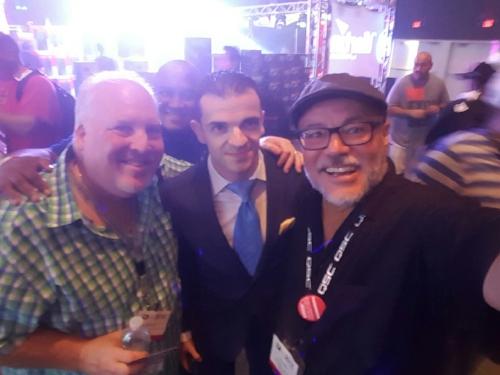 Mike Wieder, Leonardo Washington, Artem Lomaz, RayMar [International DJ Expo, Atlantic City, New Jersey]