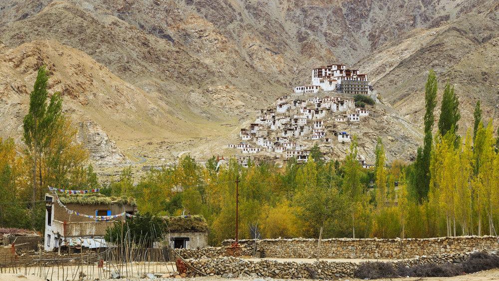 Chemrey Monastery in Ladakh