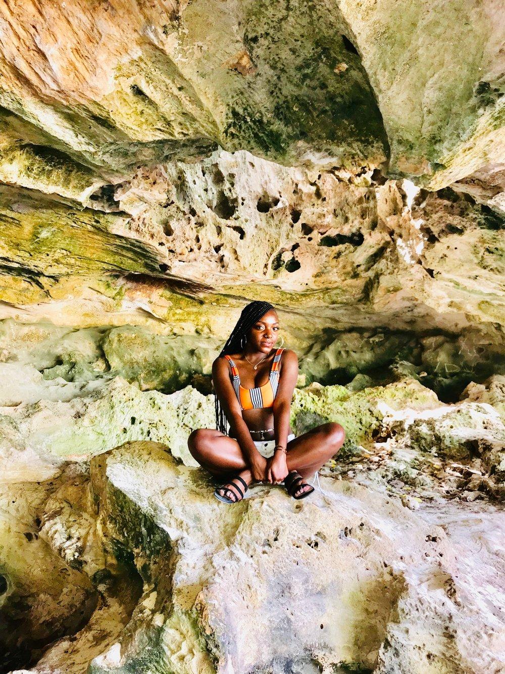 Exploring the Caves of New Providence, Nassau, Bahamas -Ye'2018