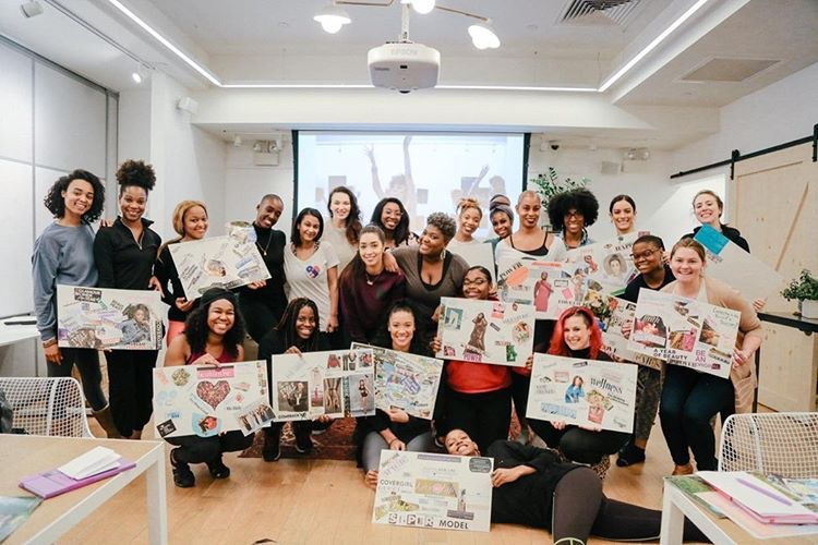 Look in vs Lookin'' Vision Board Edition with Tiff McFierce in Las Vegas, Nevada. Vision boards parties are a creative way to set goals with friends. -
