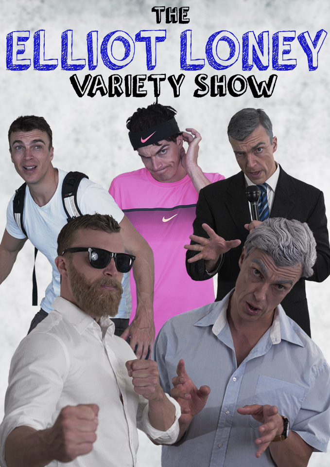 ELLIOT LONEY VARIETY SHOW - Connor co-created, produced and directed a sketch comedy show pilot starring Elliot Loney as he showcases his talents as an impersonator. The 22 minute pilot is currently in the pitching phase and is in talks with multiple networks around Australia. Below are a few skits from the pilot.