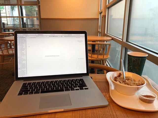#STONE REDEEMED is well underway. #amwriting #panera #Happynewyear #books #indieauthor #RRBC