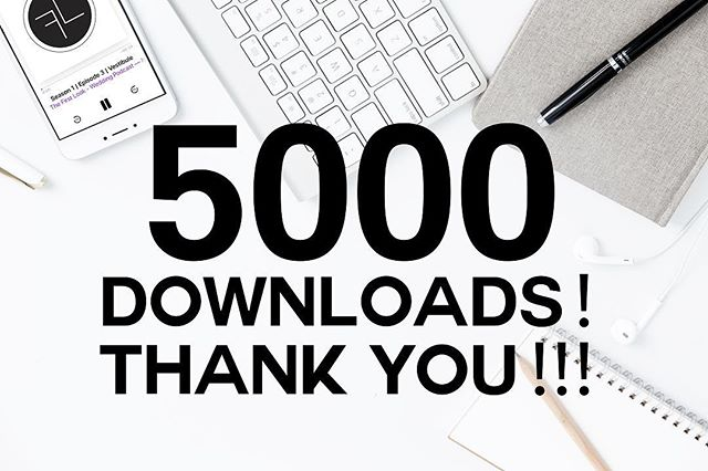 We hit 5,000 downloads this morning. Thanks guys! We are recording episode 4 tomorrow, send us your questions and stories.