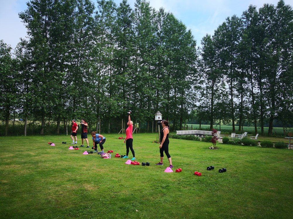 Bootcamp hitt workout