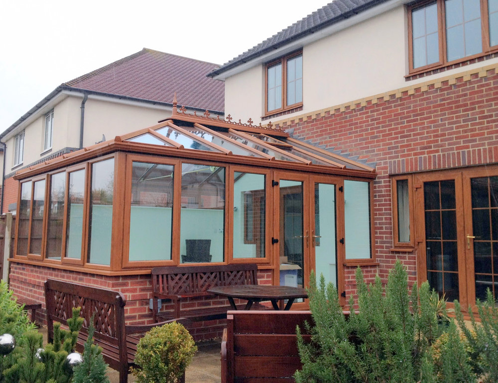 Mr & Mrs Farnborough 25 April 2013 - We are extremely pleased with our conservatory. The team were very friendly, hard-working and tidy