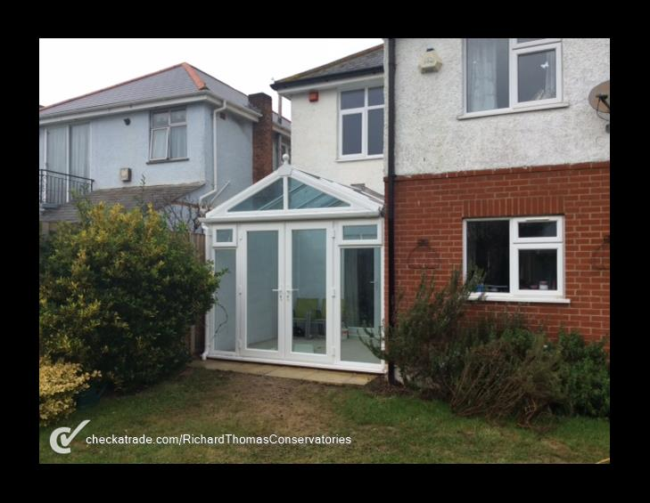 Customer in Bournemouth, 22 February 2016 - We have had a conservatory built which has gone very smoothly. The price was the cheapest we had quoted. There was no disruption to the house as it was built. The workmen all seemed efficient, and the only time we had a minor problem it was sorted the next day. We had worried it might be cold in the winter, but so far it has been warmer than the rest of the house! The finish seems of an excellent standard - looking forward to starting using it! They have also previously done our double glazing, which we've had no problems with.