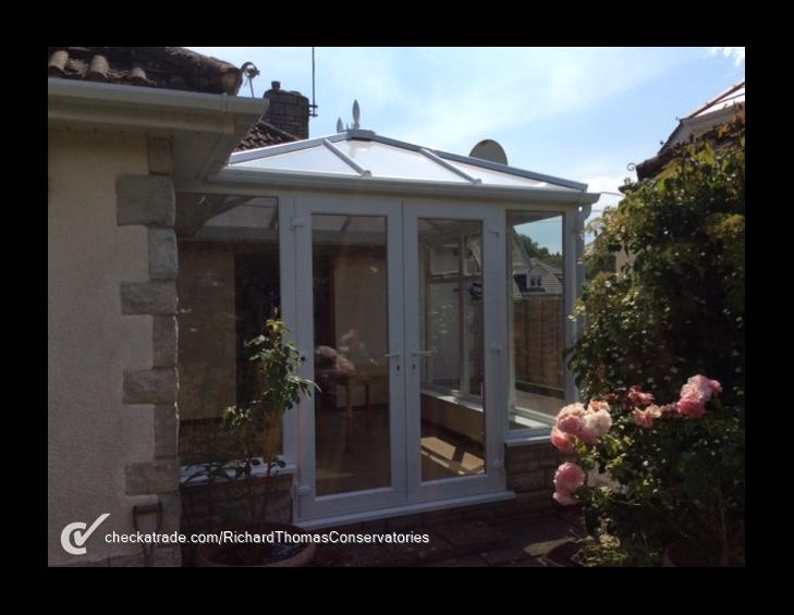 Customer in Wimborne, 1 July 2015 - We are delighted with the new conservatory, we were well looked after by the company and the workmen were excellent. They cleaned up after themselves and we highly recommend them.