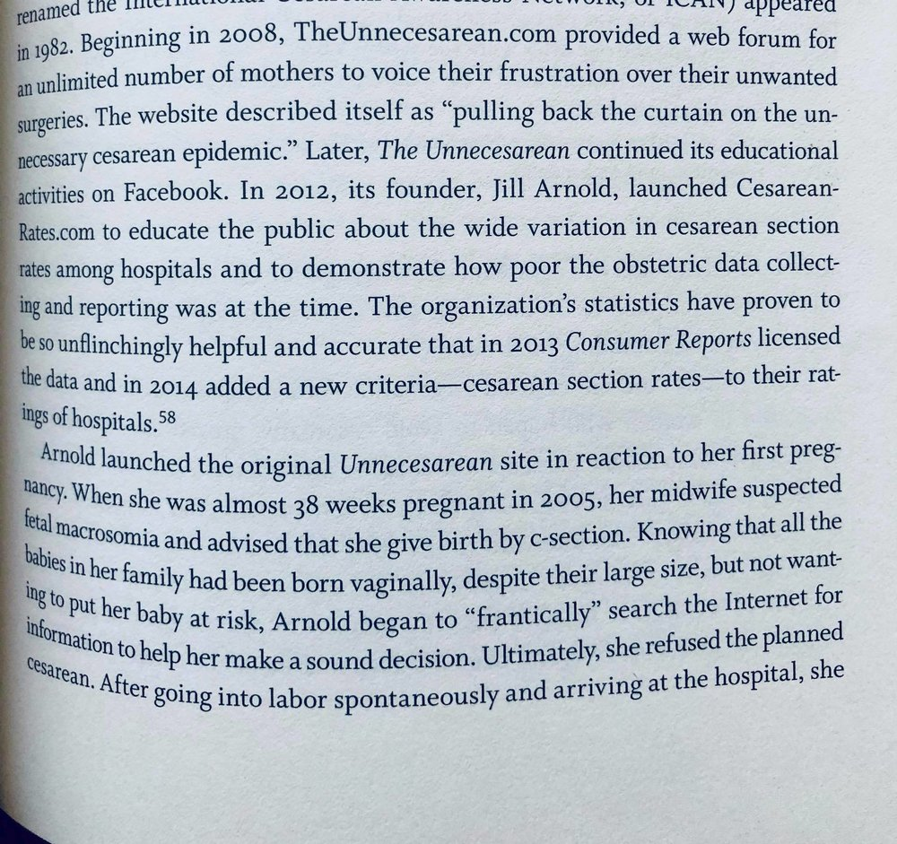 Cesarean Section: An American History of Risk, Technology, and Consequence - Dr. Jackie Wolf wrote about the early years of the CesareanRates project in her 2018 book published by Johns Hopkins University Press.