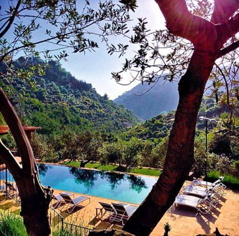 Au coeur du Chouf, Bouyouti est une escale nature particulièrement appréciée par la haute société libanaise.© DR