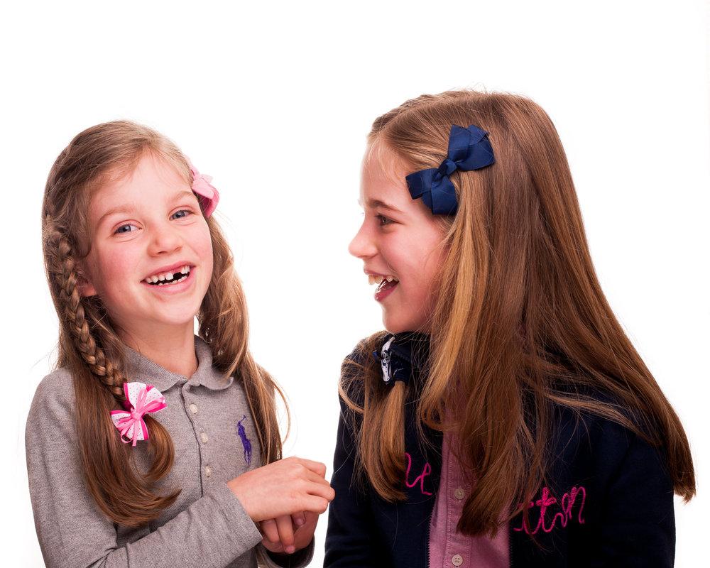 Happy and confident children