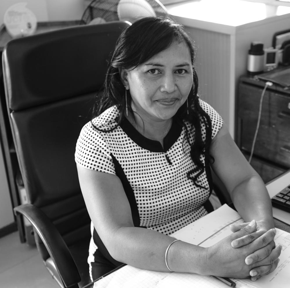 Vero RABIAZA  Assistante du Président