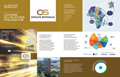 Le Groupe Sipromad : L'image du succès Malgache   Publireportage  Magazine Expansion – Juin 2018.