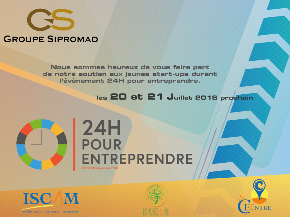 Le Groupe Sipromad soutient les jeunes Start-Up à Madagascar