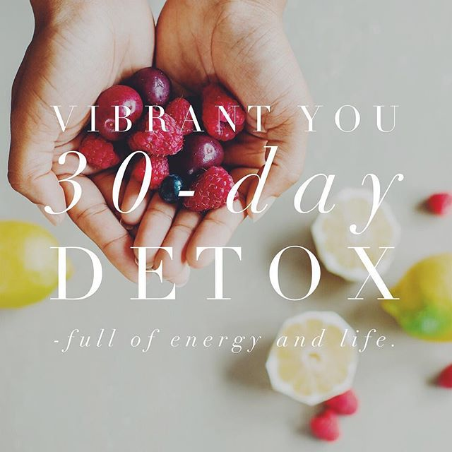 Ready to raise your vibration and change your health for 2019?🌟 Our registration for VIBRANT YOU // 30-Day Detox March 1-30 is OPEN — go to www.purposed.me/vibrantdetox — link in bio! Watch my video and scroll down to learn about this incredible detox that will change your life. You're invited to join our wellness community kicking off the next season with good vibes only + cleanse and restore to a more vibrant you!🍒🍋 #goodvibes #vibrantyou #vibrantdetox #energy #life