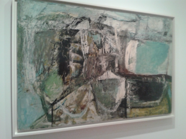 Peter Lanyon painting inspired by the Cornish coast