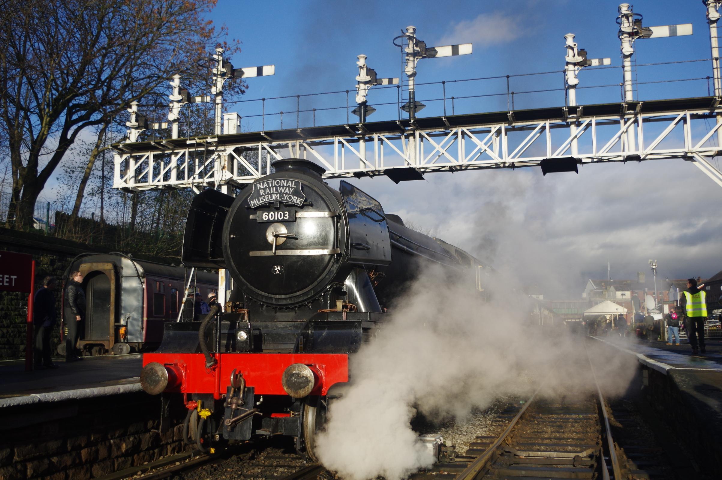 Flying Scotsman - courtesy of Robin Jones of Heritage Railway Magazine