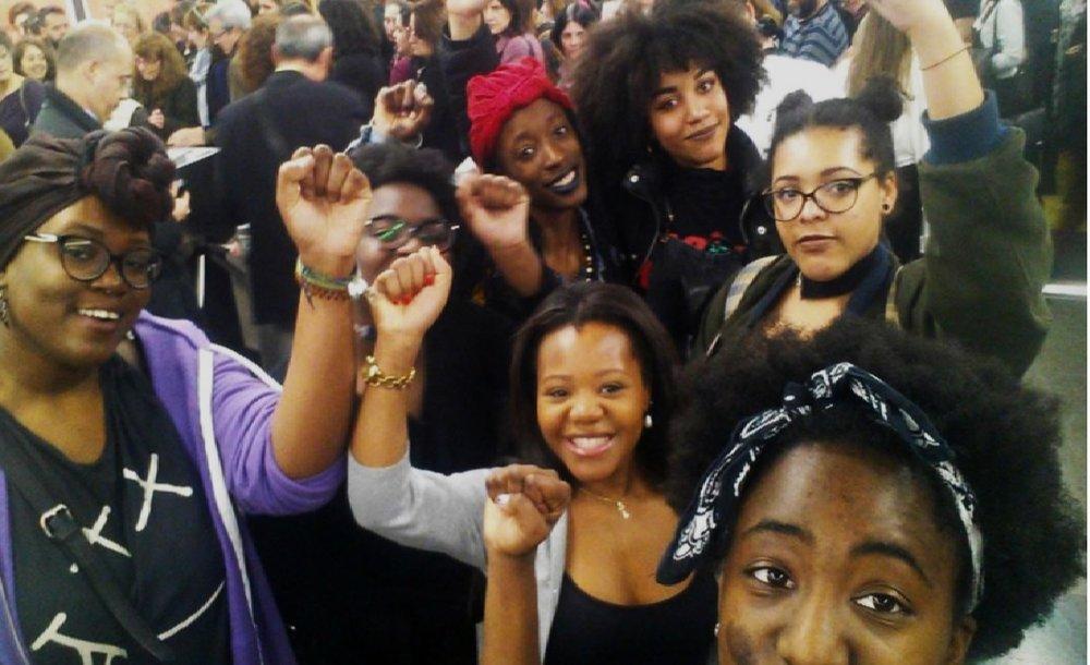 EFAE - EFAE es una llamada de atención al racismo tan presente dentro de la comunidad feminista de Madrid.