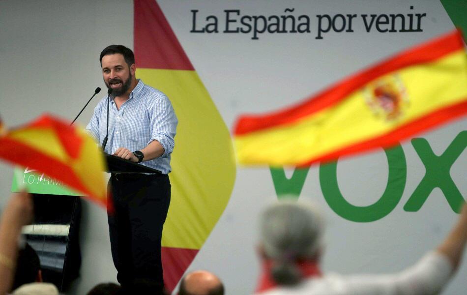 Santiago Abascal (fuente EFE)